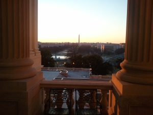 View of the Mall From US Capitol