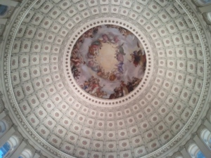 US Capitol Dome Ceiling