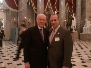 Chris Nichols with US Senator Orrin Hatch