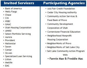Meet Your Mortgage Servicer Participants