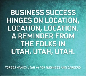 Forbes names Utah number one for business