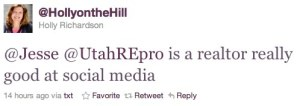 utahREpro is a REALTOR really good at social Media