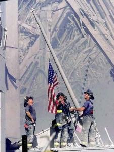 9 11 firemen flag