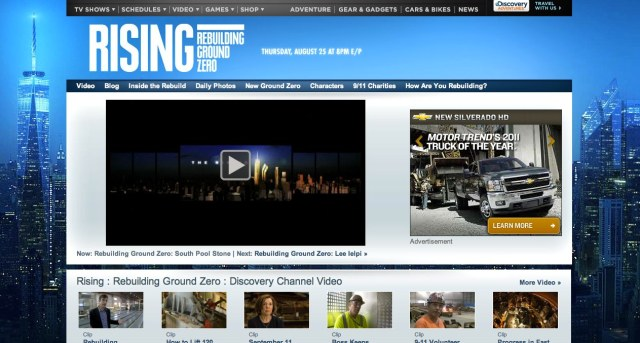 Rising Rebuilding Ground Zero Discovery Channel
