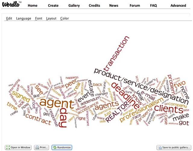 Wordle Create Screen