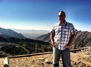 Chris Nichols at Hidden Peak 11,000 Feet