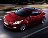 Hyundai Veloster Red