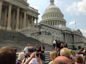 Utah REALTORS on Capitol Steps