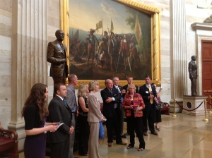 Utah REALTORS in the Capitol Rotunda