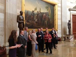 Utah REALTORS in the Capitol Rotunda