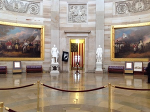 Inside the Capitol Rotunda