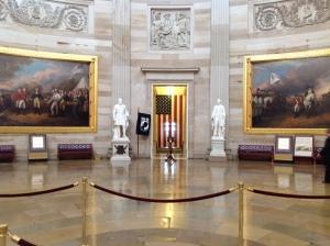 Inside the Capitol Rotunda