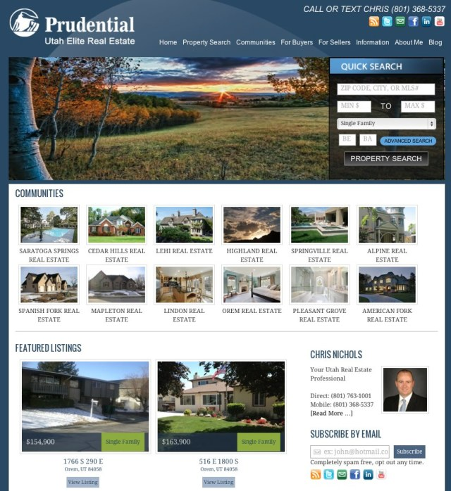 utahREpro Website